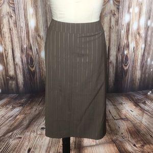 NWT Patrizia Luca Wool Dress Suit Skirt 12